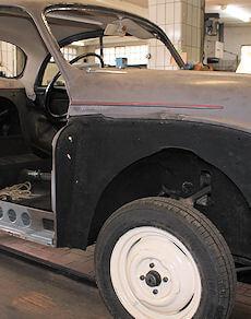 Autoreparatur - Oldtimer