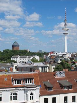 Hamburg Sternschanze - nahe der Autowerkstatt Haake
