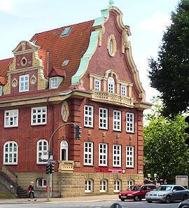 Hamburg Stellingen - Sitz der freien Autowerkstatt Haake
