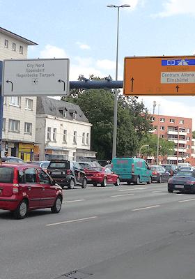 Hamburg Stellingen - Kieler Straße