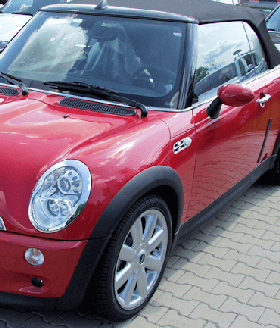 Autoreparatur von Auto Haake